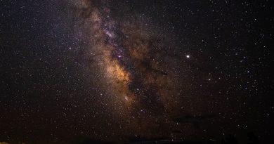 La Vía Láctea fotografiada desde Colorado, Estados Unidos