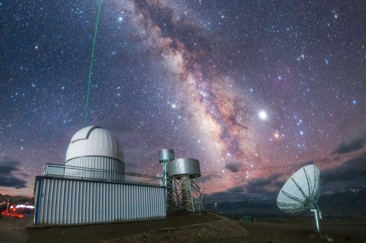 Imagen de la Vía Láctea tomada desde el Tíbet (20-agosto)