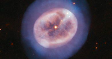 Astrónomos observan los últimos instantes de la vida de una estrella