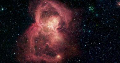 La nebulosa W40: una guardería estelar con forma de Mariposa