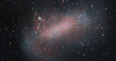El telescopio VISTA obtiene una nueva imagen de la Gran Nube de Magallanes