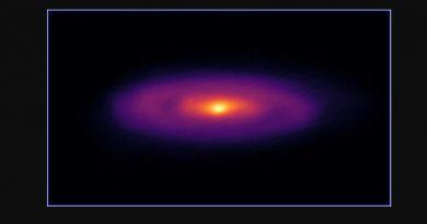 Astrónomos detectan una estrella bebé alimentándose en un remolino cósmico