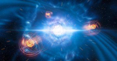 Identifican por primera vez un elemento pesado nacido tras la colisión de dos estrellas de neutrones