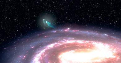 Astrónomos detectan una estrella que fue expulsada del centro galáctico de la Vía Láctea
