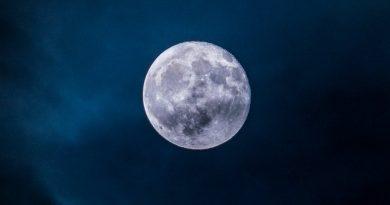 Foto de la Luna tomada desde Inglaterra (13-noviembre)