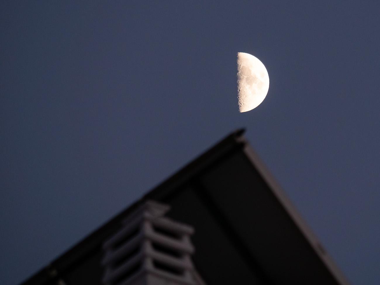 Fotos de la Luna tomadas desde Torremolinos, Málaga - El ...
