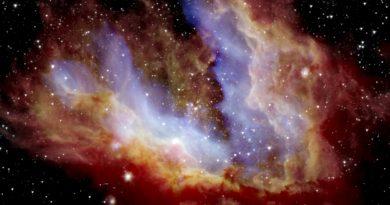 El Observatorio SOFIA obtiene imágenes del corazón de la Nebulosa Omega