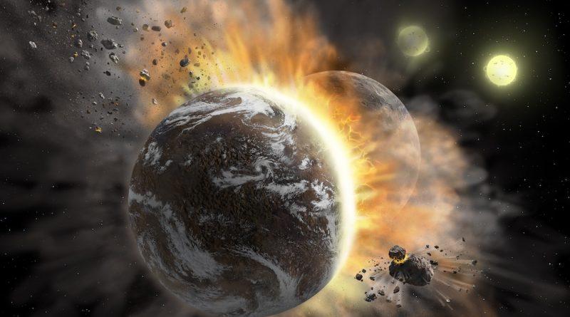 La colisión de dos exoplanetas en el sistema BD +20 307