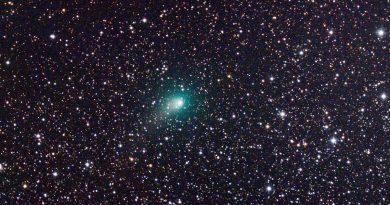 Imagen del Cometa C/2017 T2 (PANSTARRS) tomada el 19 de febrero