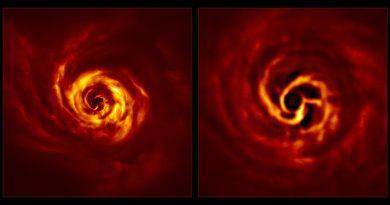 El telescopio VLT obtiene imágenes de la formación de un planeta en el sistema AB Aurigae