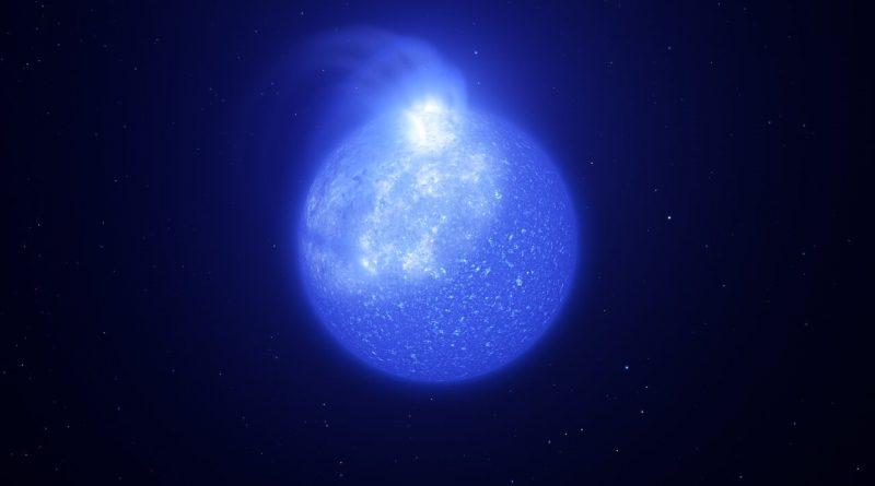 Datos de ESO demuestran que las estrellas calientes están plagadas de manchas magnéticas gigantes