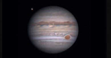 Calendario Astronómico para el mes de Julio de 2020