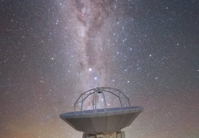 La Vía Láctea fotografiada desde Atacama, Chile