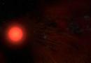 Radiotelescopios revelan la atmósfera de la estrella supergigante roja Antares