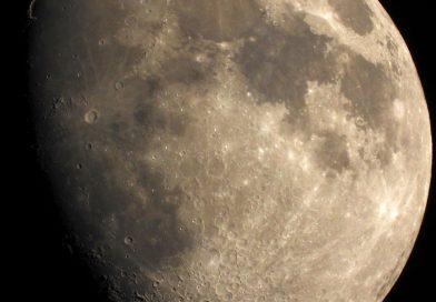 Foto de la Luna tomada el 1 de junio de 2020
