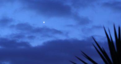 Fotografía de Venus tomada al amanecer en Arenys de Munt, Barcelona