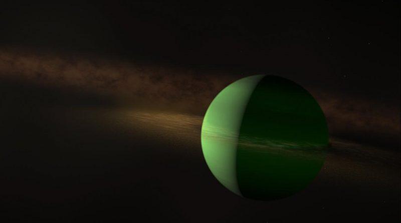 Descubren un planeta en formación alrededor de la cercana y joven estrella AU Mic