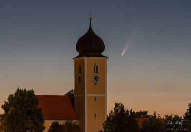 El Cometa C/2020 F3 (NEOWISE) captado desde Múnich, Alemania