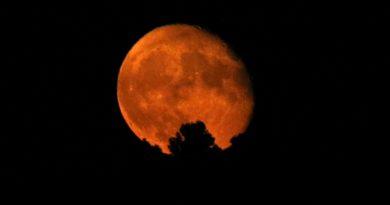Fotografías de la Luna tomadas desde Arenys de Munt, Barcelona