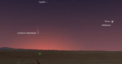 Cómo observar el Cometa C/2020 F3 (NEOWISE)