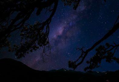 La Vía Láctea captada desde Estes Park, Colorado