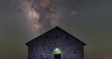 La Vía Láctea captada desde Nuevo México, Estados Unidos