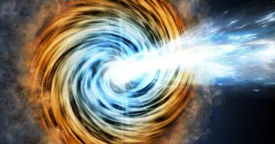 Detectan el agujero negro más lejano perteneciente a una rara familia de galaxias