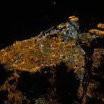La ciudad de Barcelona fotografiada desde la ISS