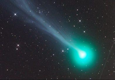 Imagen del Cometa C/2020 F8 (SWAN) tomada desde Namibia