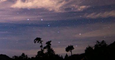 Imagen de la constelación de la Osa Mayor tomada desde California