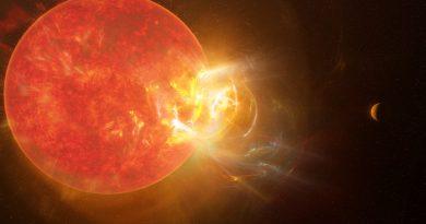 Astrónomos detectan una llamarada en Próxima Centauri, 100 veces más intensa que las llamaradas del Sol