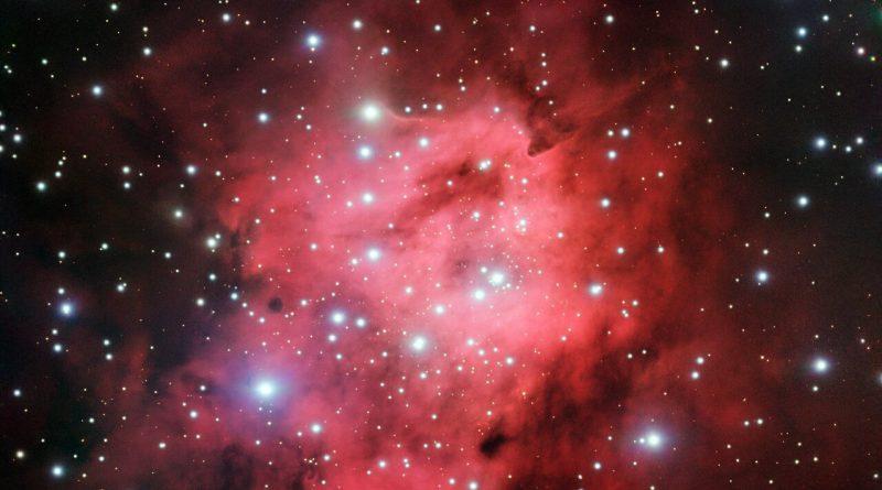 El VLT obtiene imágenes de una burbuja gigante repleta de estrellas