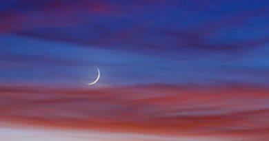 Imagen de Luna captada desde Salt Lake, Utah