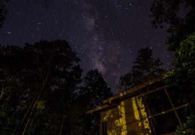 Imagen de la Vía Láctea tomada desde Jarabacoa, República Dominicana