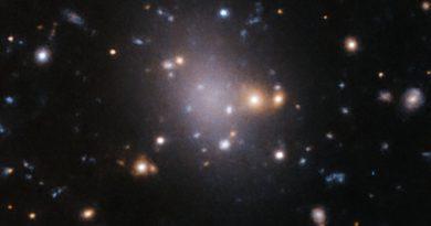 El telescopio VST obtiene imágenes de una galaxia fallida