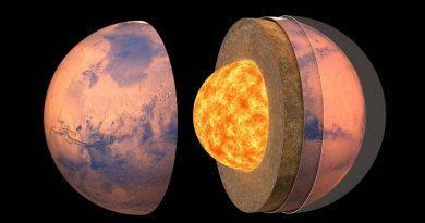 Datos de la misión InSight proporcionan información sobre la estructura interna y la composición de Marte