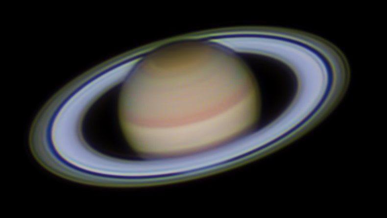 Saturno se colocará en oposición con el Sol esta noche