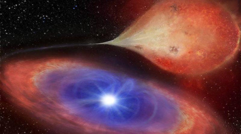 """Astrónomos observan por primera vez una enana blanca que """"se enciende y se apaga"""""""