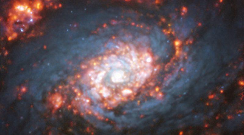 El telescopio VLT obtiene imágenes de NGC 5248, una galaxia con estructura espiral doble